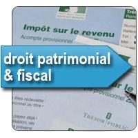 Droit patrimonial et fiscal